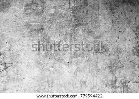 Wall fragment with scratches and cracks #779594422