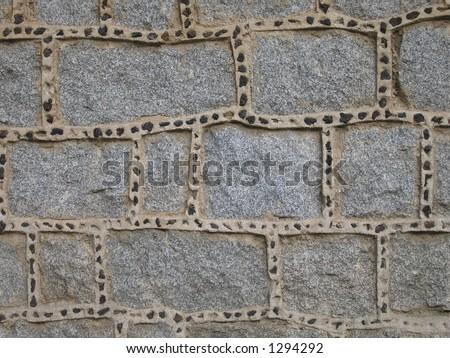 Wall in Avila, Spain