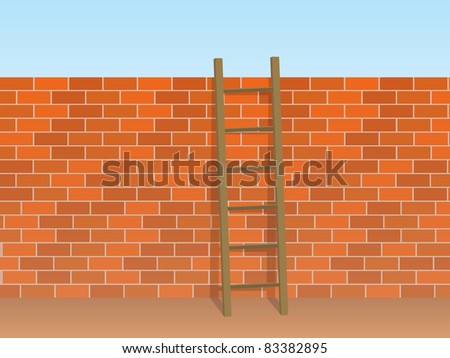 Wall - Ladder
