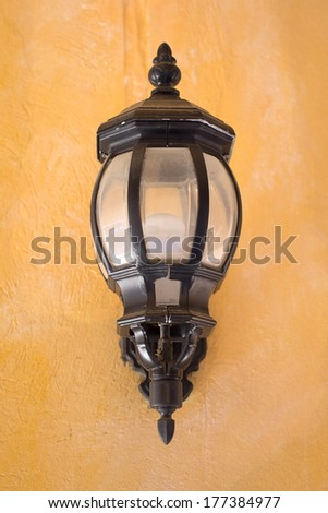Wall lamp outdoor.