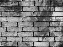 Wall, loft style, scratch, concrete, brick. Background for design and presentations.