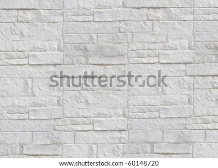 Wall made from bricks pattern