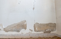 wall moisture effects on paints and concrete