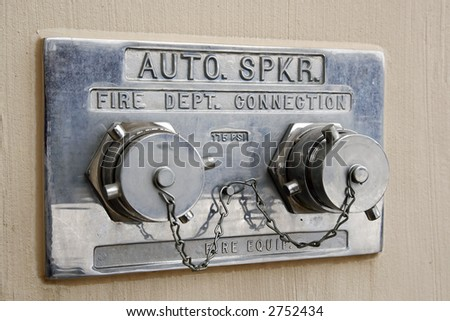 wall mount fire hydrant
