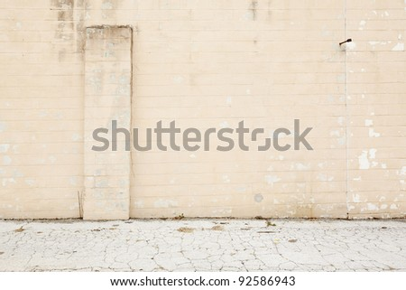 wall pavement background