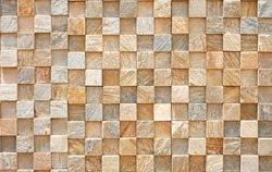 Wall Small Squares Abstract Pattern