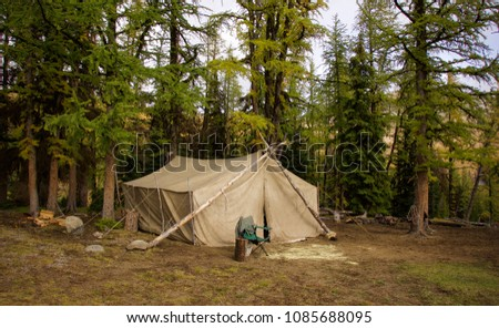 Wall tent pack trip - camping in the Pasayten Wilderness Area   #1085688095