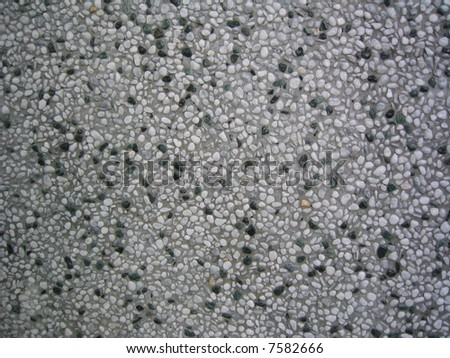wall texture with pebble stone