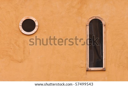 wall texture with windows