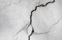 wall with a crack