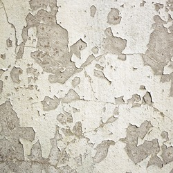 Wall with cracked  paint background