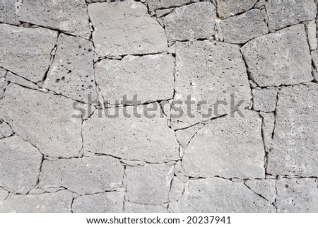 wall with stone textures in grey