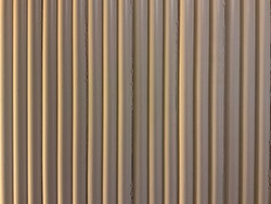 Wall with vertical lightbrown strip