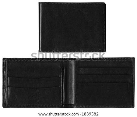 Wallet - Black Leather