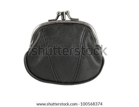 Wallet isolated on white
