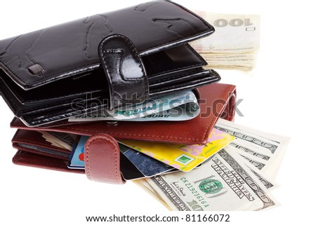 Wallets with Money