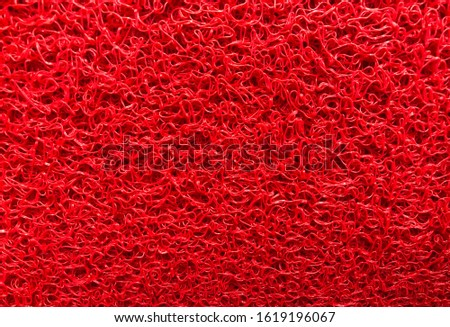 Wallpaper, Background,Texture of red  plastic carpet on the floor.