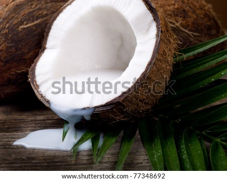 walnut coconut milk