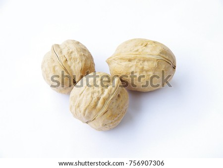 Walnut, is a kind of nutritious fruit. #756907306