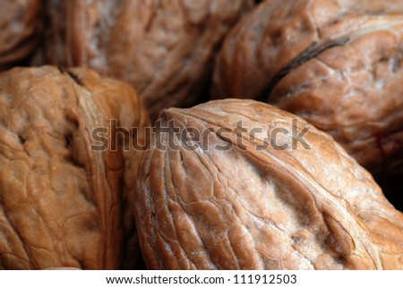 walnuts in shell, vegetable  eating food