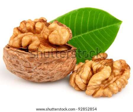 Walnuts. Use it for a health and nutrition concept.
