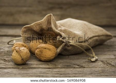 Walnuts.Vintage styled