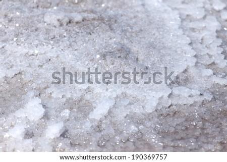 Walvis Bay Salt Works in Namibia, Africa