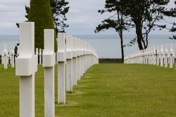 War cemetery Normandy