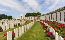 War memorial for WW1 in Belgium
