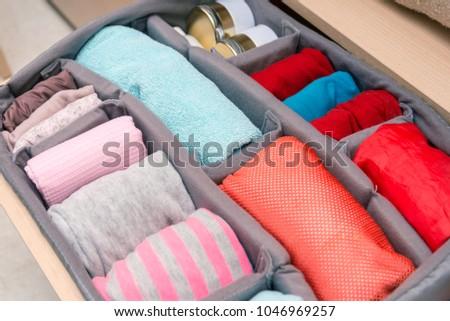 wardrobe drawer organizer  #1046969257