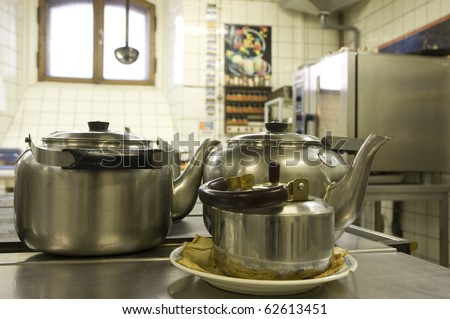 ware, ancient, antique, kitchen, chef, cooking, copper, vegetable, fruit, knife, cutting, pot, kettle.