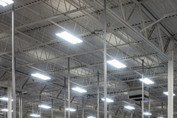 Warehouse Ceiling Lighting Industrial Flourescent Bulbs
