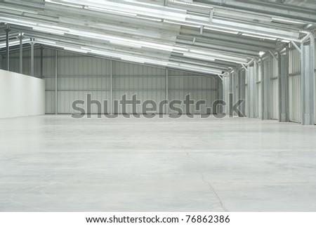 Warehouse empty