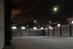 Warehouse for storage of various goods and equipment