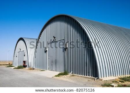 warehouse hangars