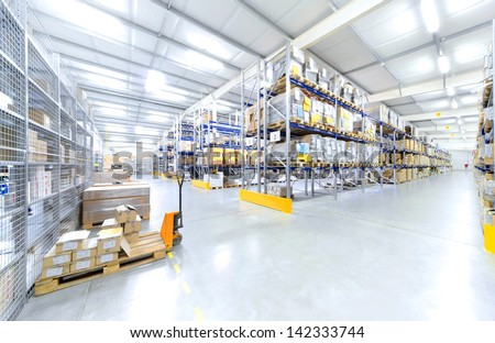 warehouse interior #142333744