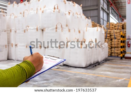 Warehouse is commercial building for storage of goods