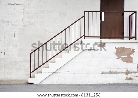 warehouse stairs/steps