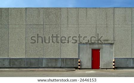 warehouse - the red door