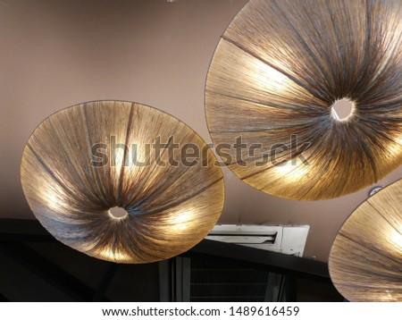 Warm, Cozy, Relax ceiling lantern #1489616459