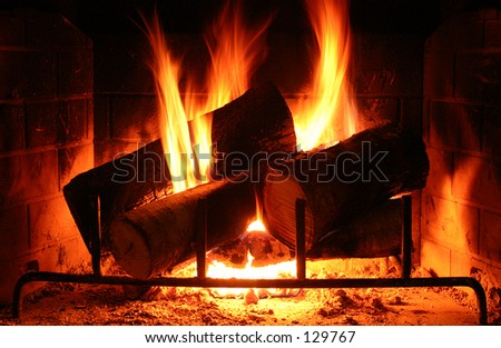 Fireplace morno - tiro mais escuro