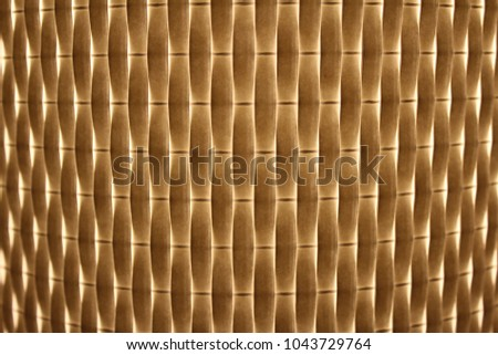 warm light shining through woven texture. overlapping yellow and white layers. glowing.  #1043729764