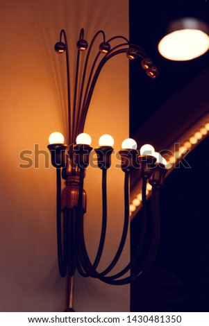 Warm lights and warm tones #1430481350