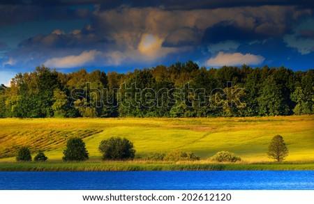Warmia Landscape Zdjęcia stock ©