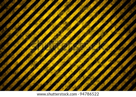 Warning stripe template - stock photo