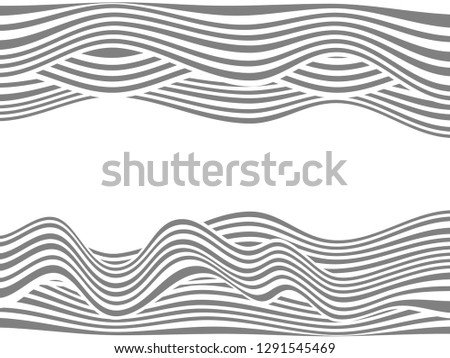 Warped lines background.Wavy lines.Abstract wavy lines background.