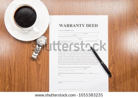 warranty deed document #1055383235