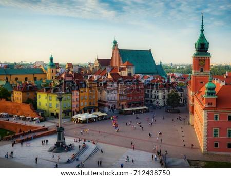 Warsaw Oldtown Zdjęcia stock ©