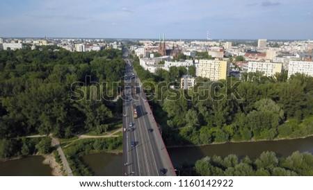 Warsaw Praga Północ Zdjęcia stock ©