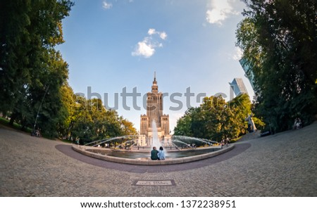Warsaw, the capital of Poland #1372238951